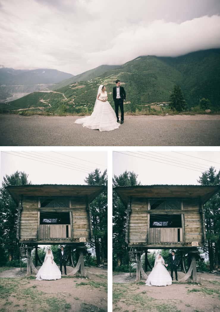 Düğün Fotoğrafı - dış çekimde