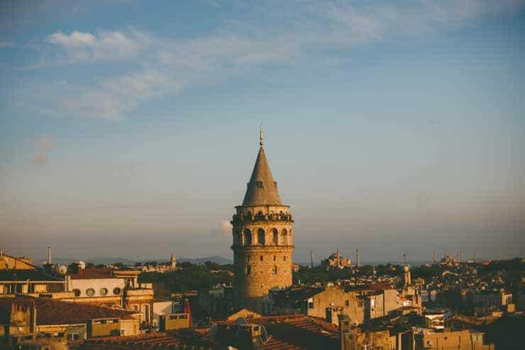 Düğün Fotoğrafı - galata kulesi