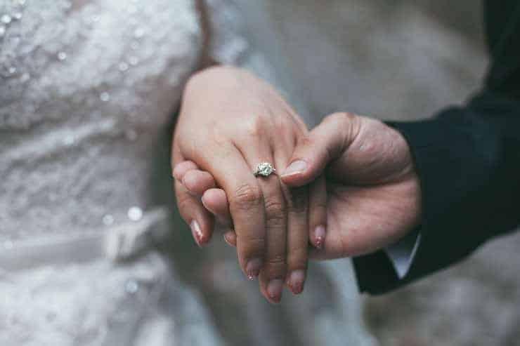 Düğün Fotoğrafı - yüzükler