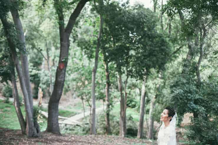Düğün Fotoğrafı - green background