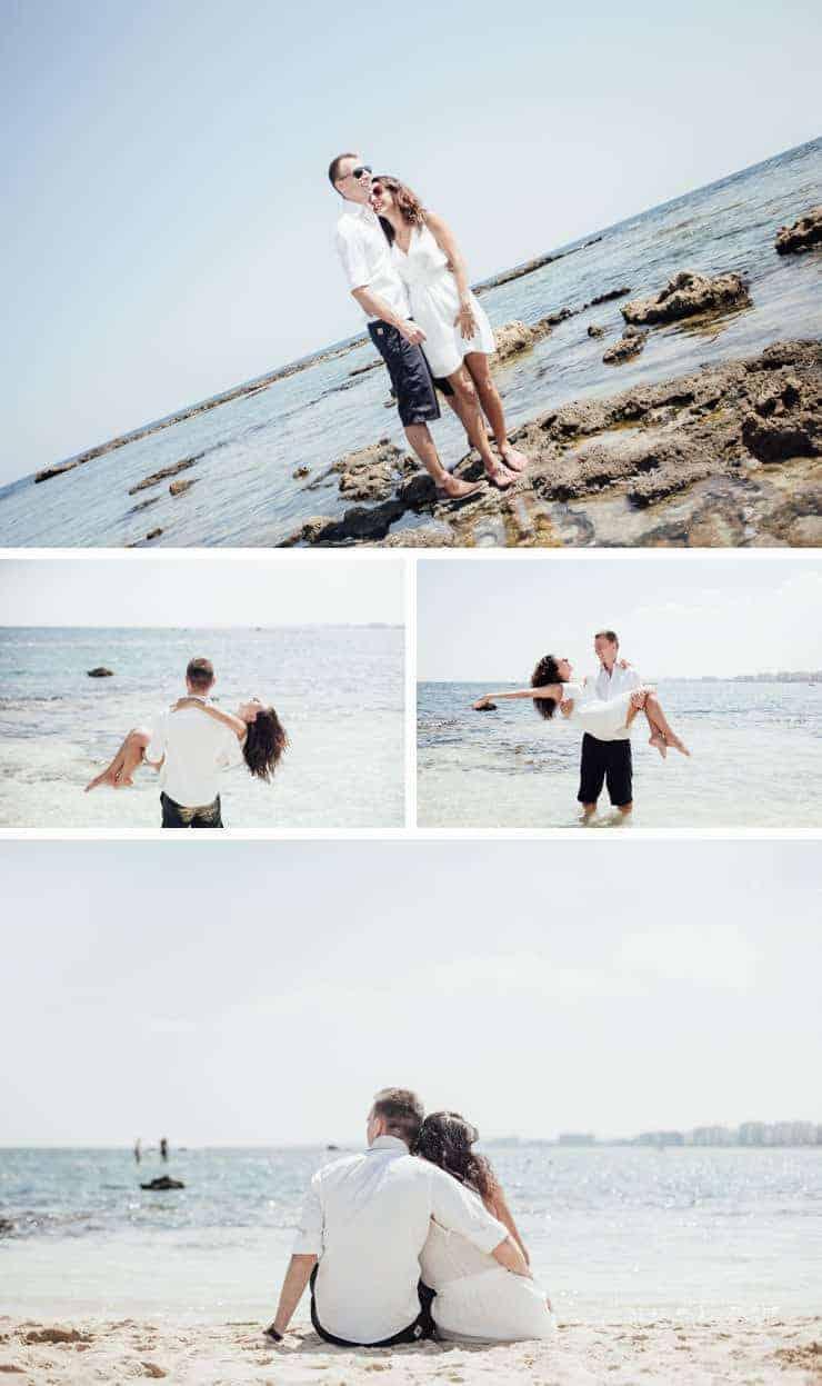 KKTC düğün fotograf plaj çekimi