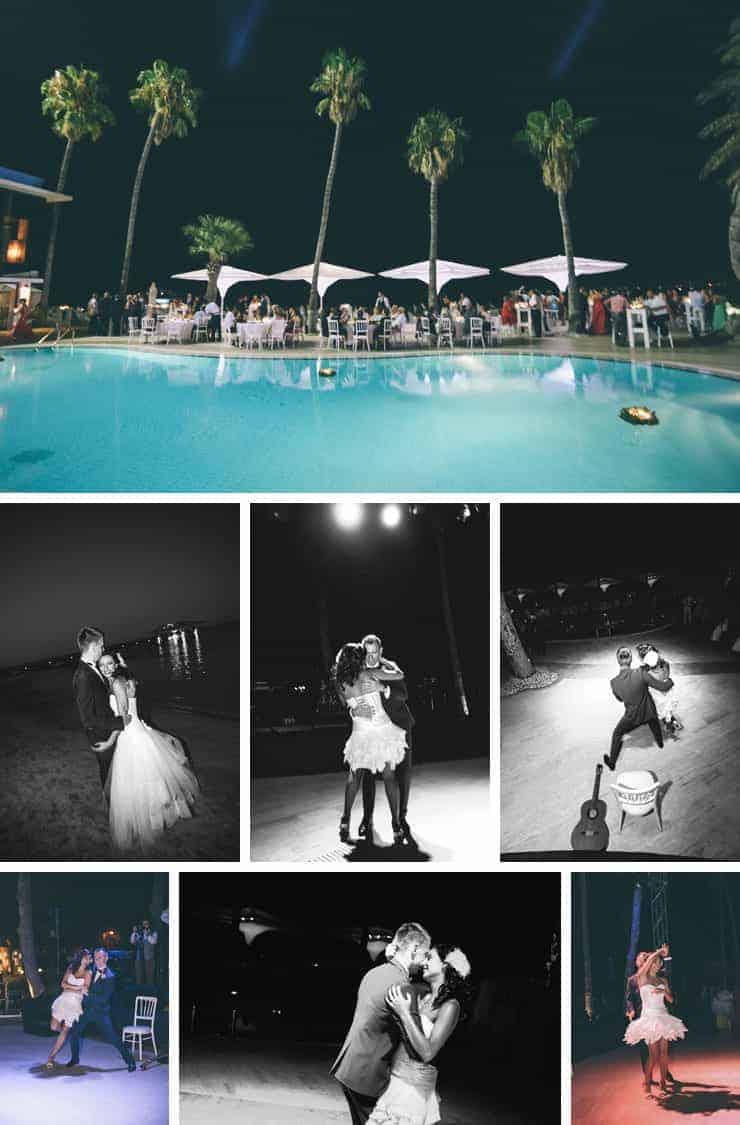 KKTC ilk dans düğün fotoğrafı
