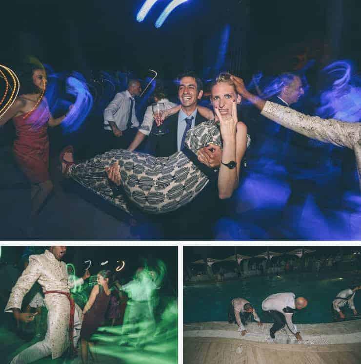 kıbrıs gece düğün fotoğrafı