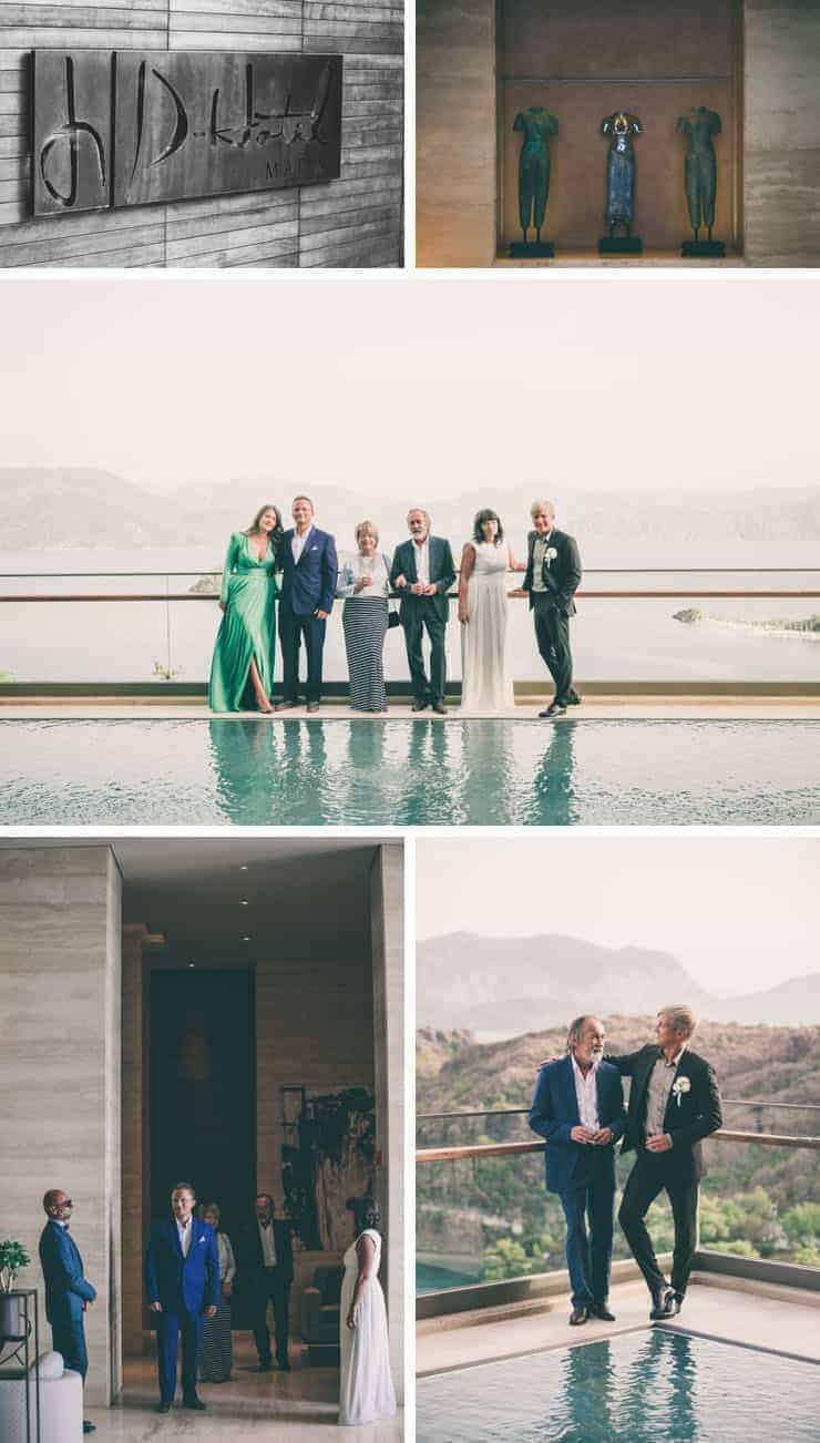 turkey wedding photos - d-hotel maris lobby