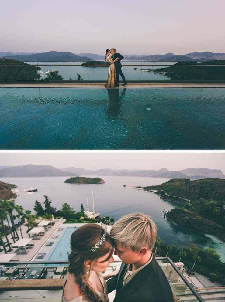 turkey wedding photos - plajj düğünü marmaris