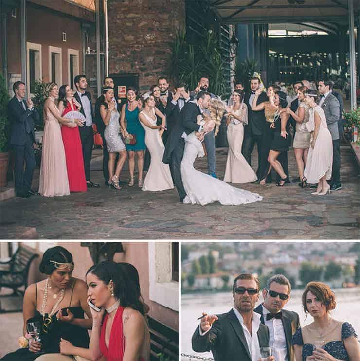 gatsby style wedding photos istanbul