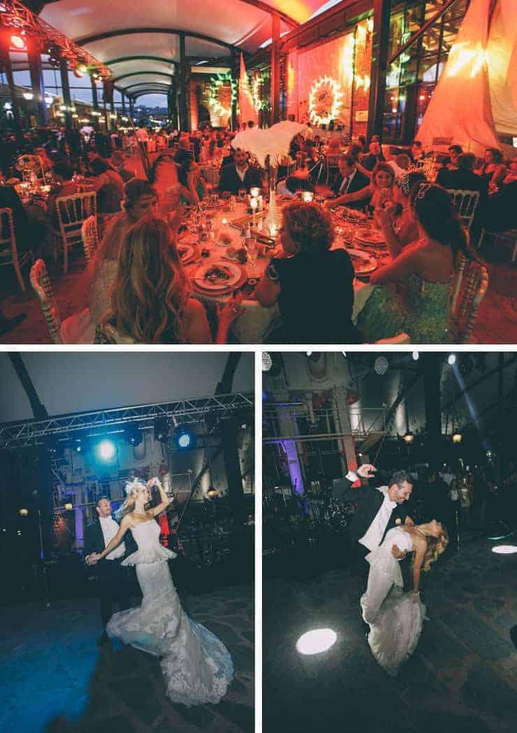 Istanbul wedding first dance photos