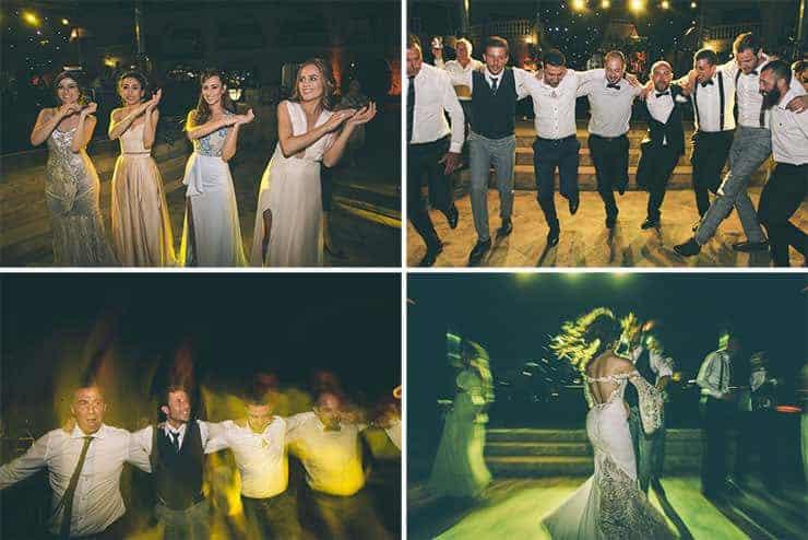 wedding party bridemaids groomsman north cyprus