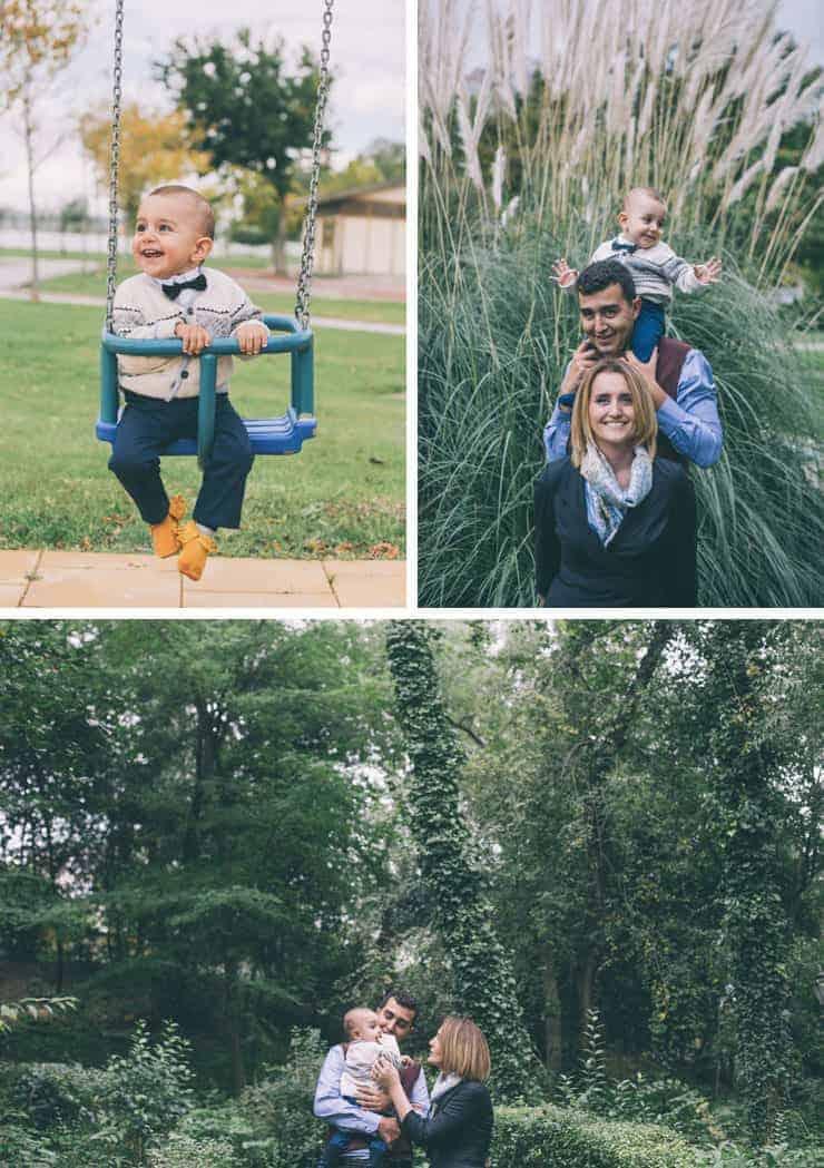 aile bebek fotograflari - istanbul