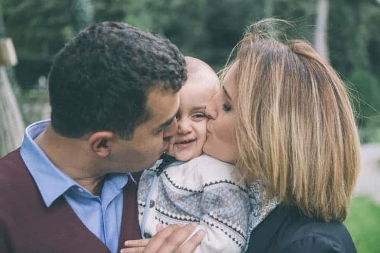 aile bebek fotograflari