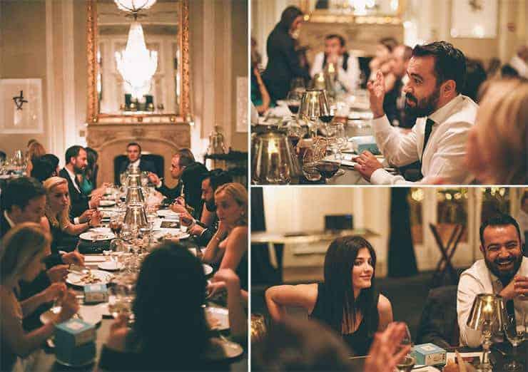 barcelona wedding dinner