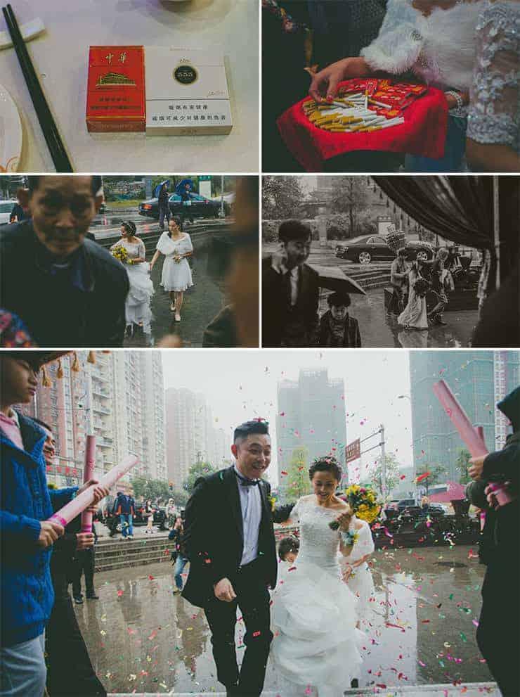 çinde düğün