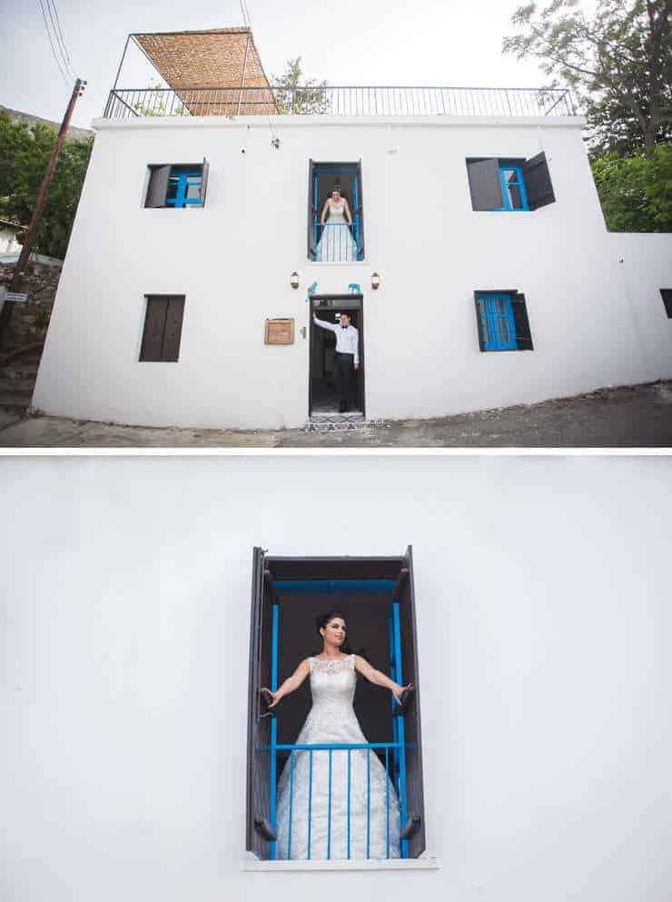 Kibris wedding photographer - house at karmy