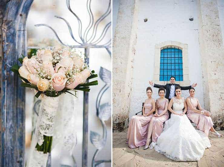 Kibris wedding photos - wedding bouquet