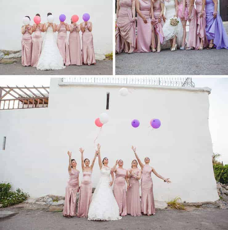 Kibris wedding photos - baloons