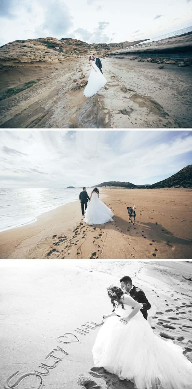 Karpaz Düğün Fotoğraf Çekimi - sahilde