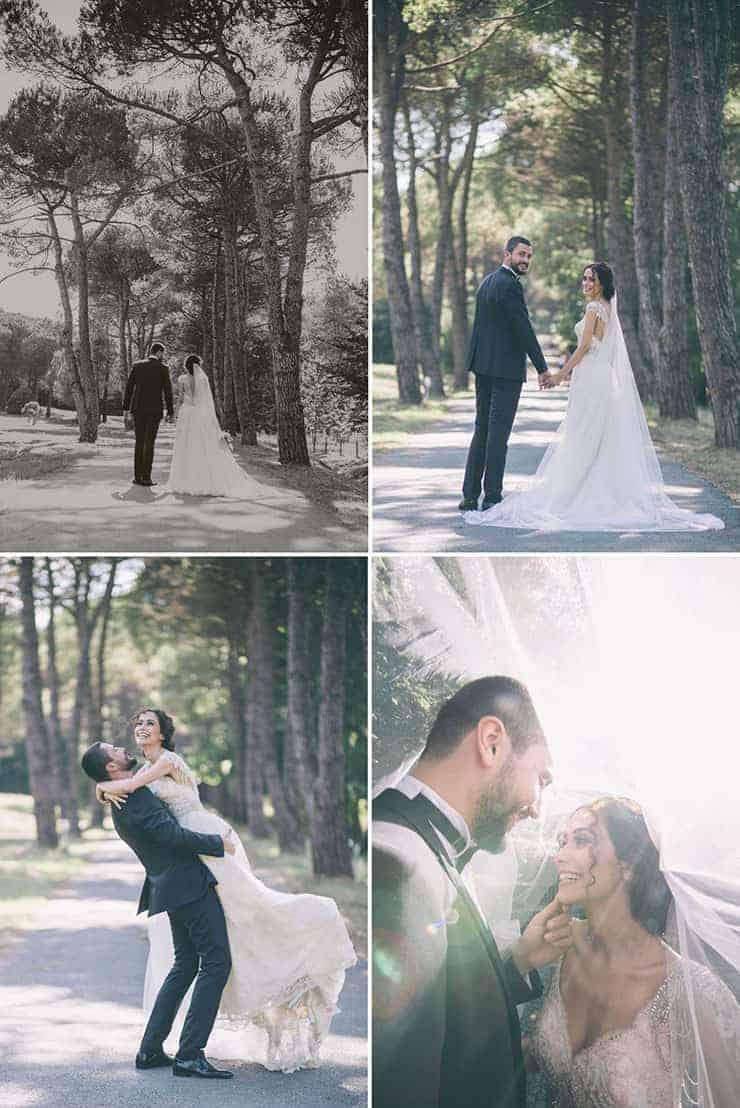istanbul ataturk arboretum dugun fotograflari