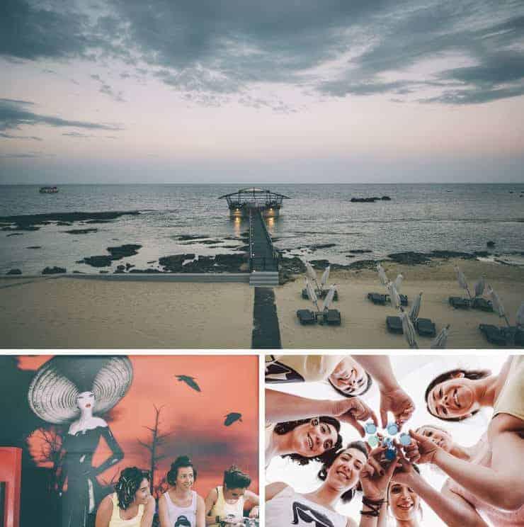Kibris gazimagusa palm beach hotel dugun fotograflari