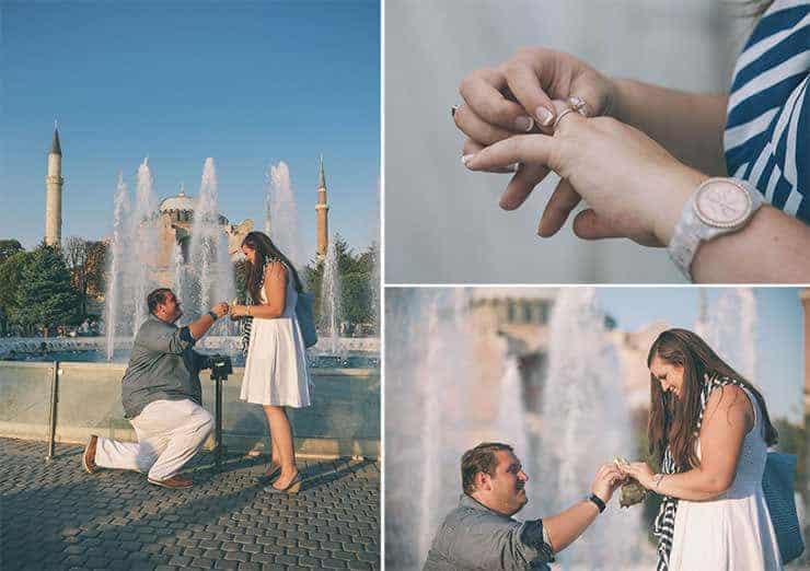 turkey istanbul proposal portrait photos