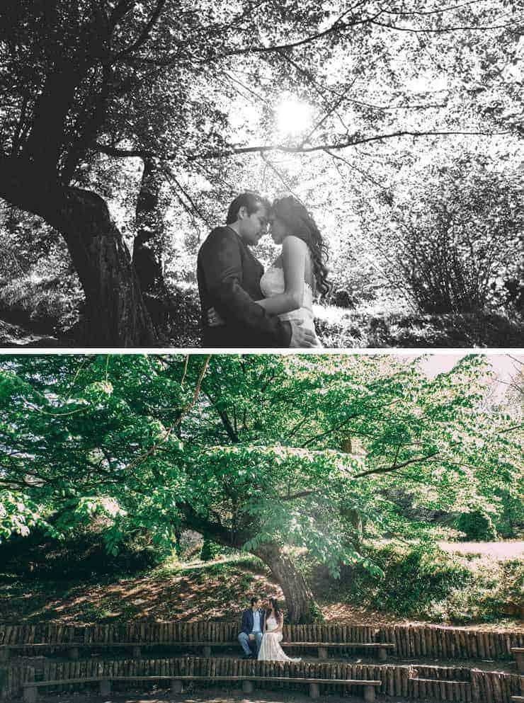 Ataturk Arboretum dugun fotograflari