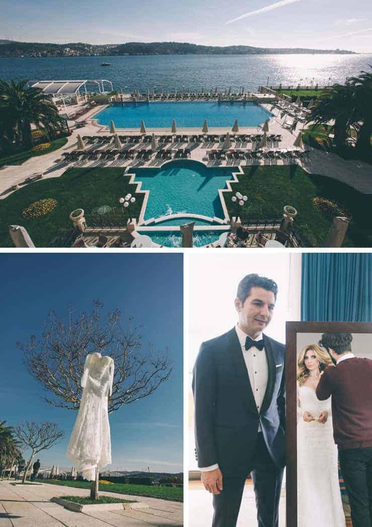 ciragan palace wedding photos