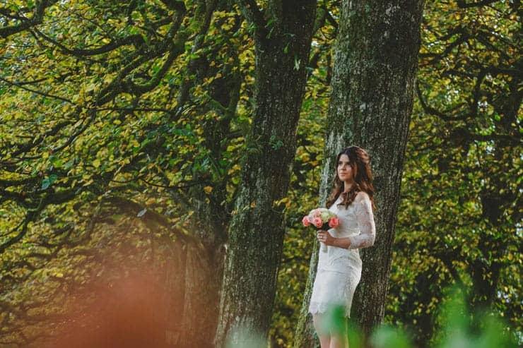 switzerland bride portrait