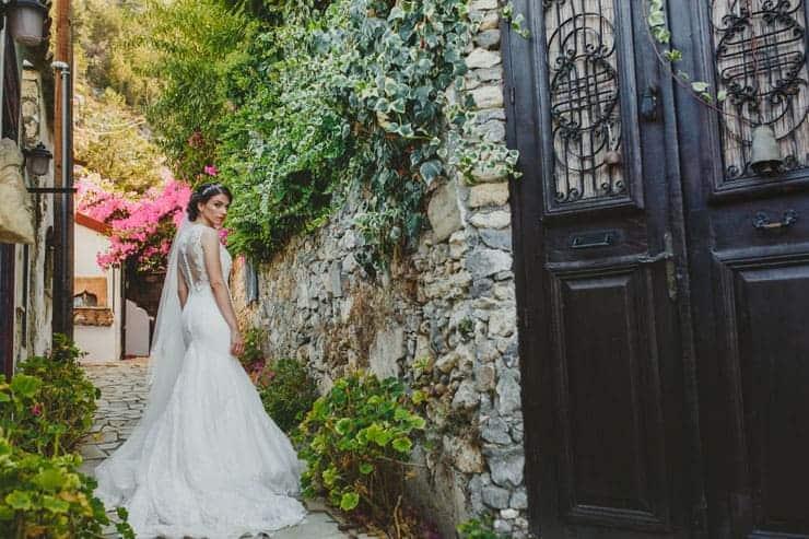 bridal portrait cyprus