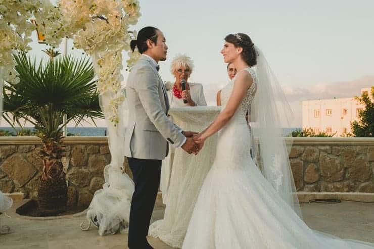di figaro wedding ceremony