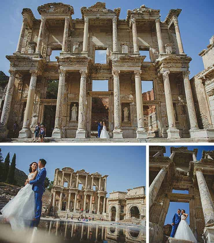 Ephesus Izmir Wedding Photos