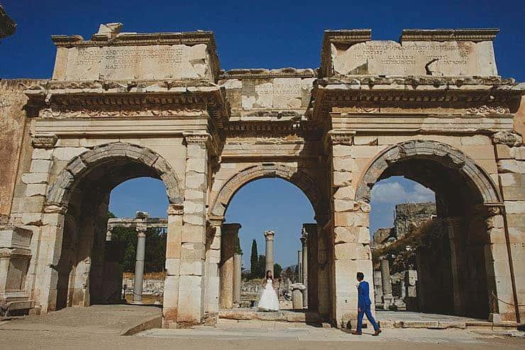 Ephesus Izmir Wedding Photos