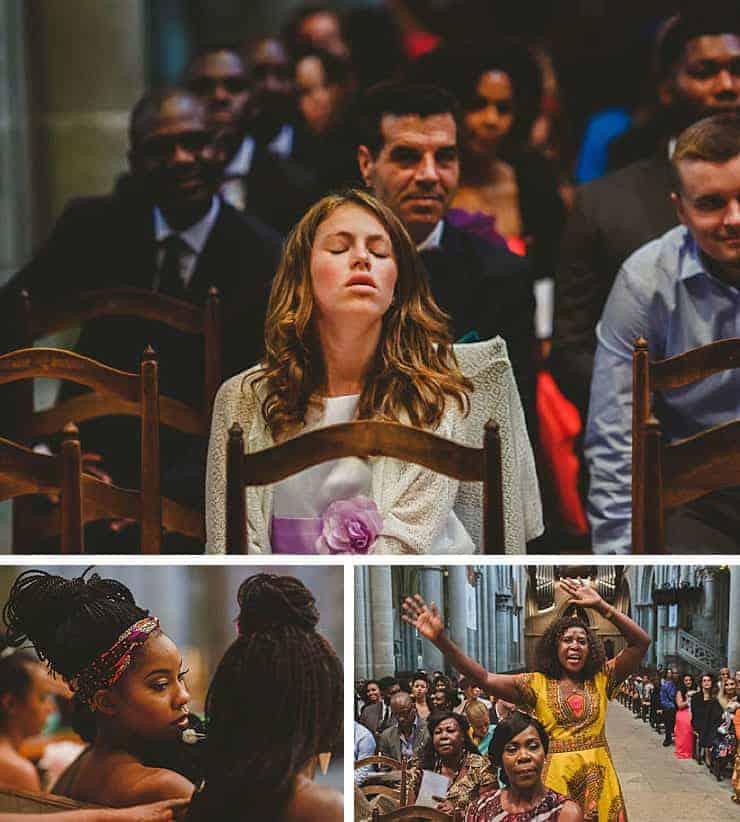 Kilisede kız