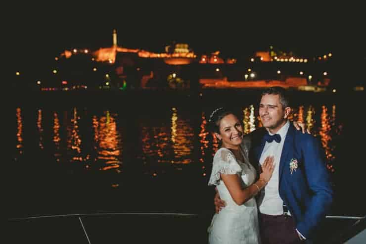 belgrade night wedding