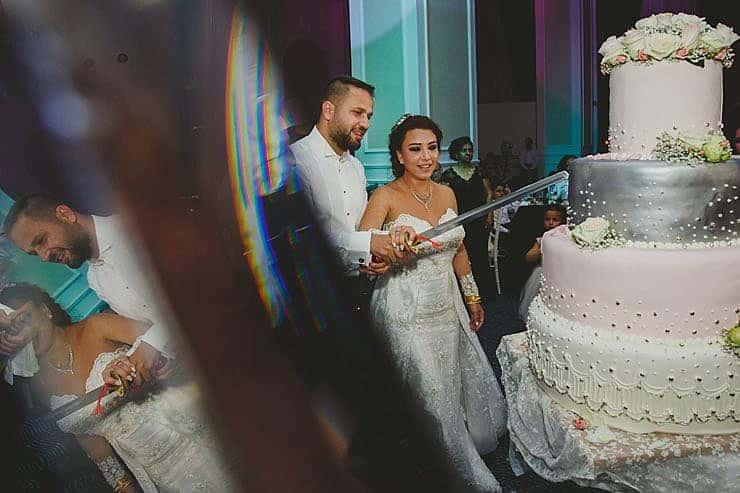 Girne Lord's Palace Hotel Düğün pastasi