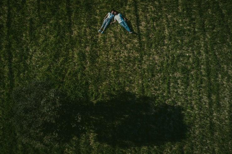 drone ile dugun