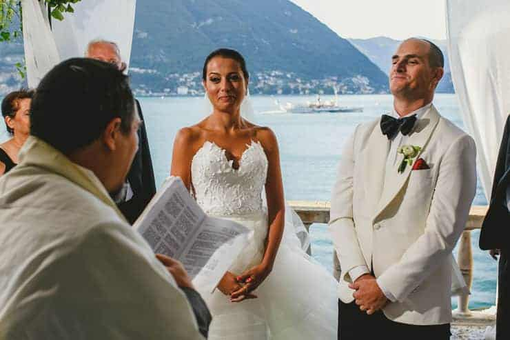 como lake Villa Pliniana destination wedding ceremony