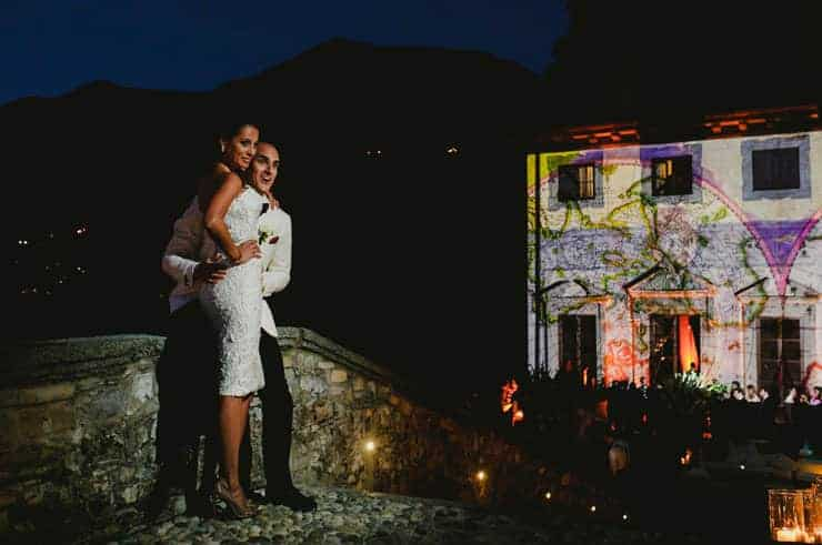 Luxury Villa Pliniana Weddings