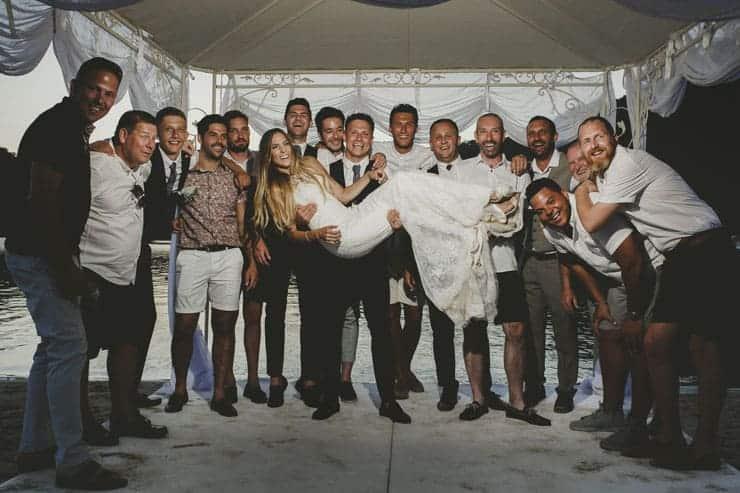 Sea Horse Beach Club Wedding Ceremony