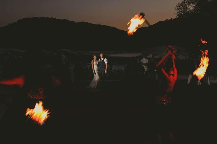 oludeniz fire show