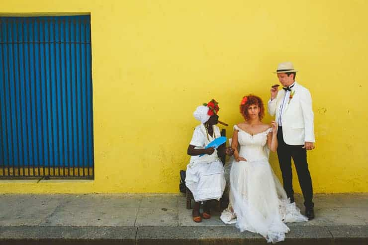 cuba natural wedding shooting