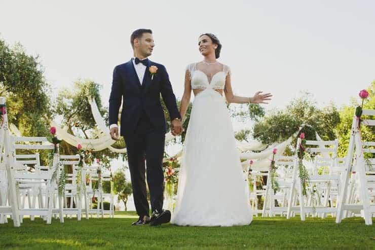 north cyprus wedding - ceremony