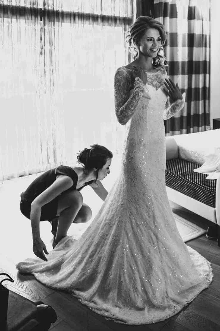 Calista Luxury Resort Wedding Bride Make up