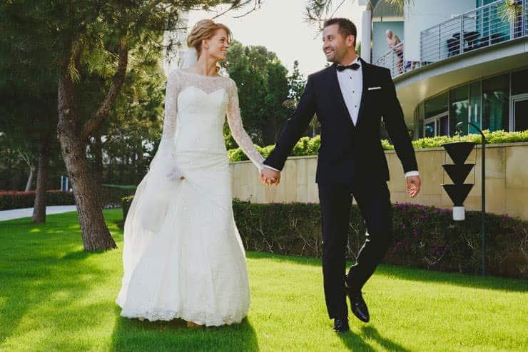 Antalya Calista Luxury Resort Wedding Photos
