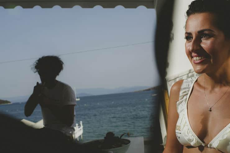 Bodrum Daphnis Hotel Wedding Make up