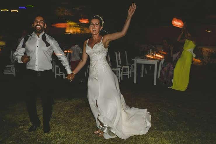 Bodrum Daphnis Hotel Wedding Photos - cake
