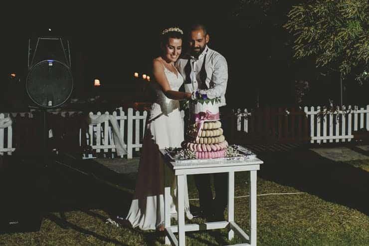 Bodrum Daphnis Hotel Wedding Photos - dinner