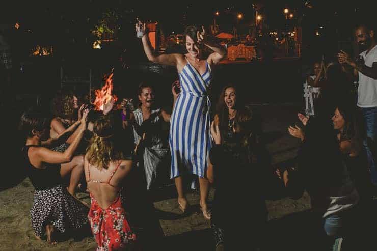 Bodrum Daphnis Hotel Wedding Reception Documentary Photos