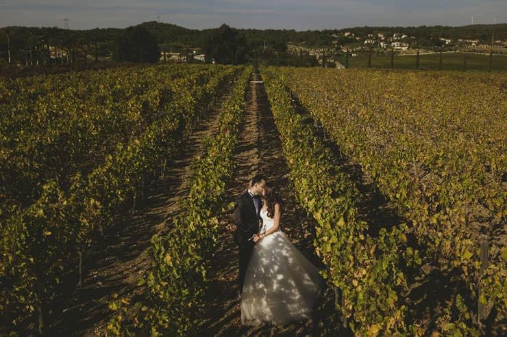 Urla Şarapçılık Düğün Dış Çekim