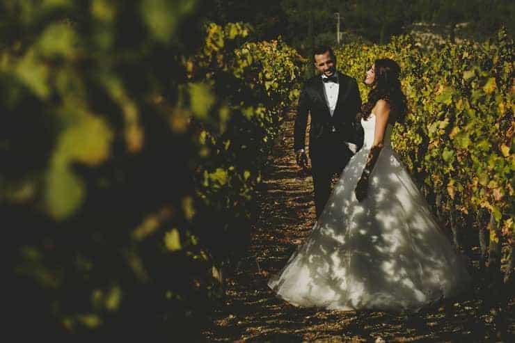 İzmir Urla Şarapçılık Düğün Dış Çekim - Drone Foto