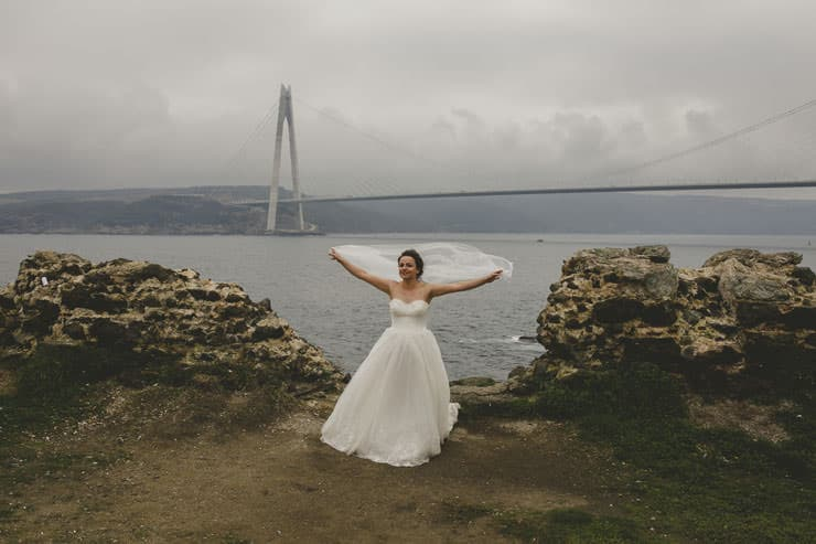 after wedding day session istanbul