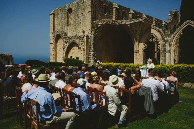 Bellapais Monastery Wedding Photos